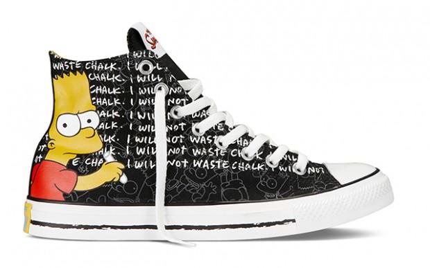 Des Converse Simpsons