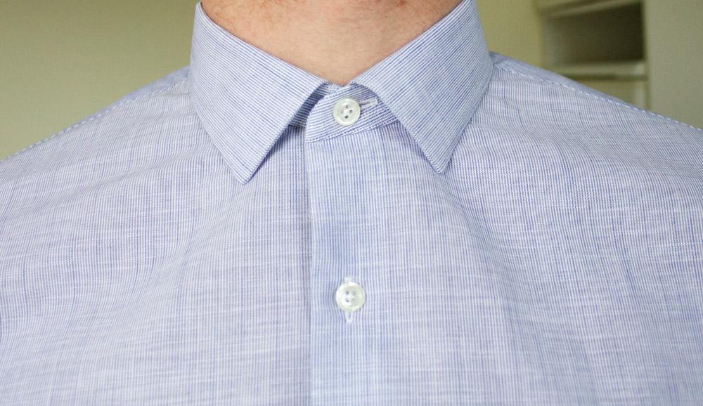 cole de chemise premiere manche