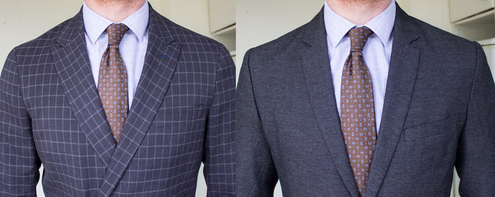 Chemise Premiere Manche avec deux blazers
