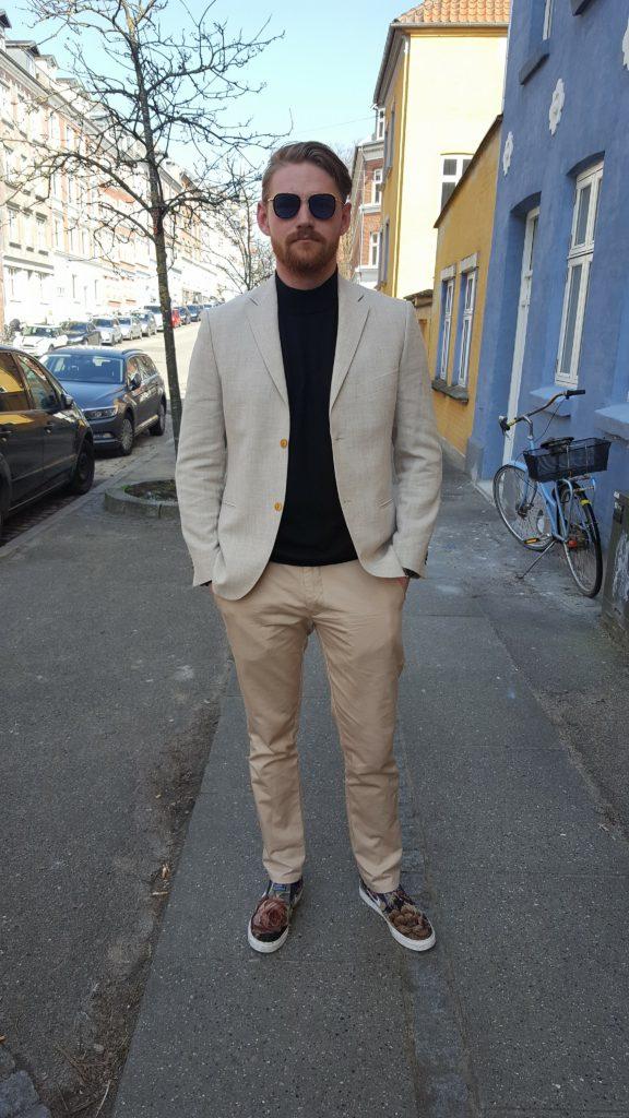 Mon vieux blazer bertoni blanc