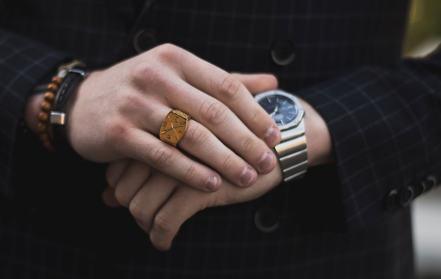 guide bague homme