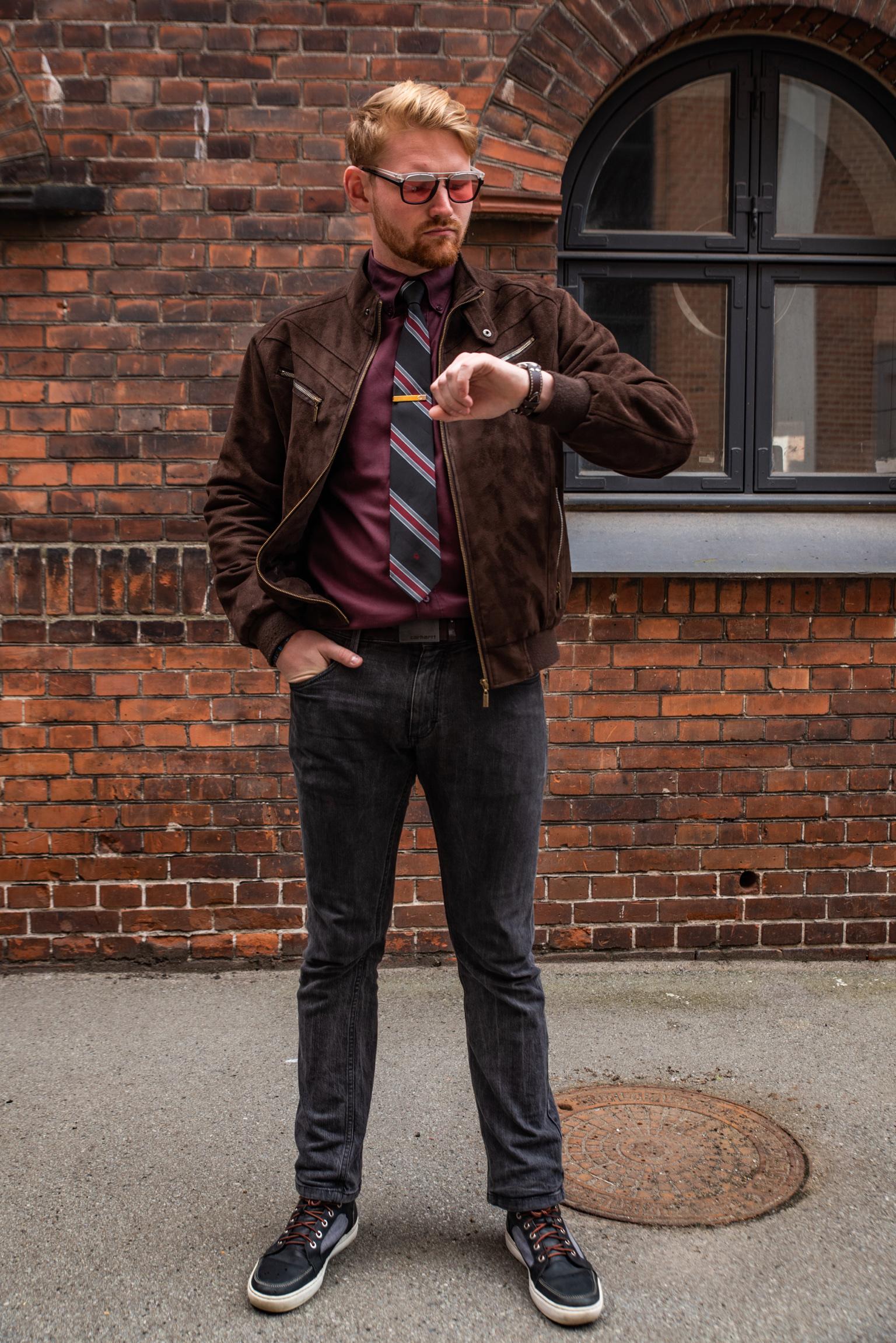 """Un autre style workwear plus """"urbain"""", qui mélange le bureau et le côté pratique"""