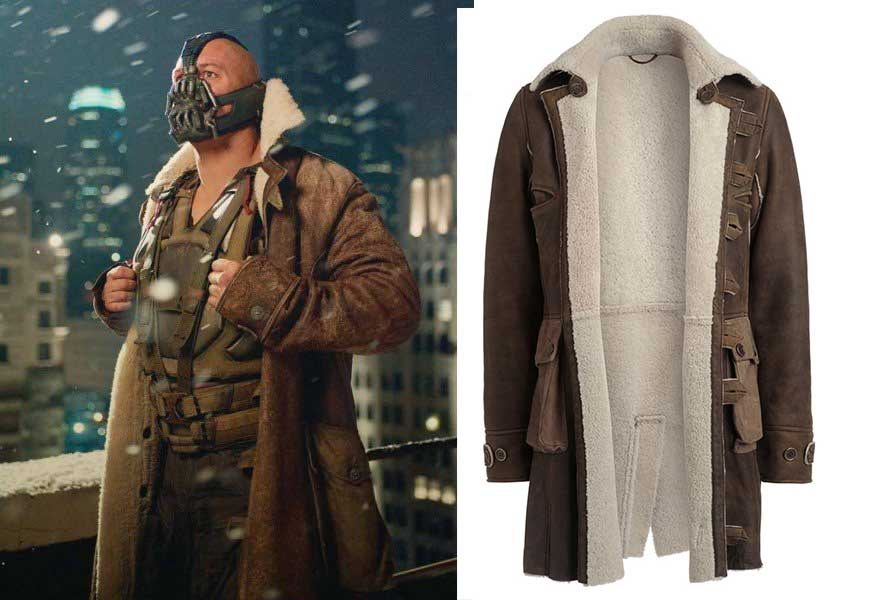La veste de Baine du film Batman, The dark Knight Rises