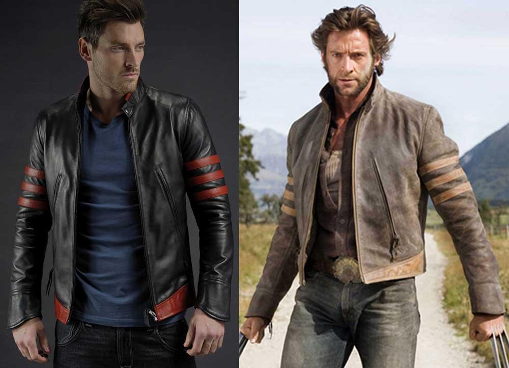 La veste en cuyir de Wolverine, porté par Hugh Jackman