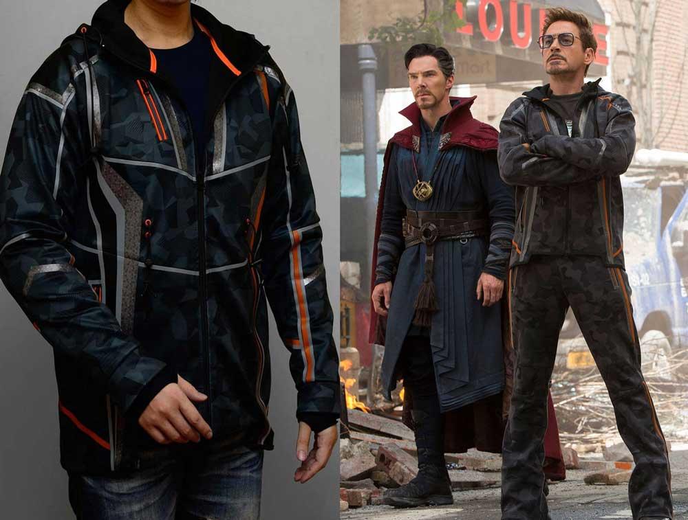 La veste de Tony Stark dans Avengers: Infinity War