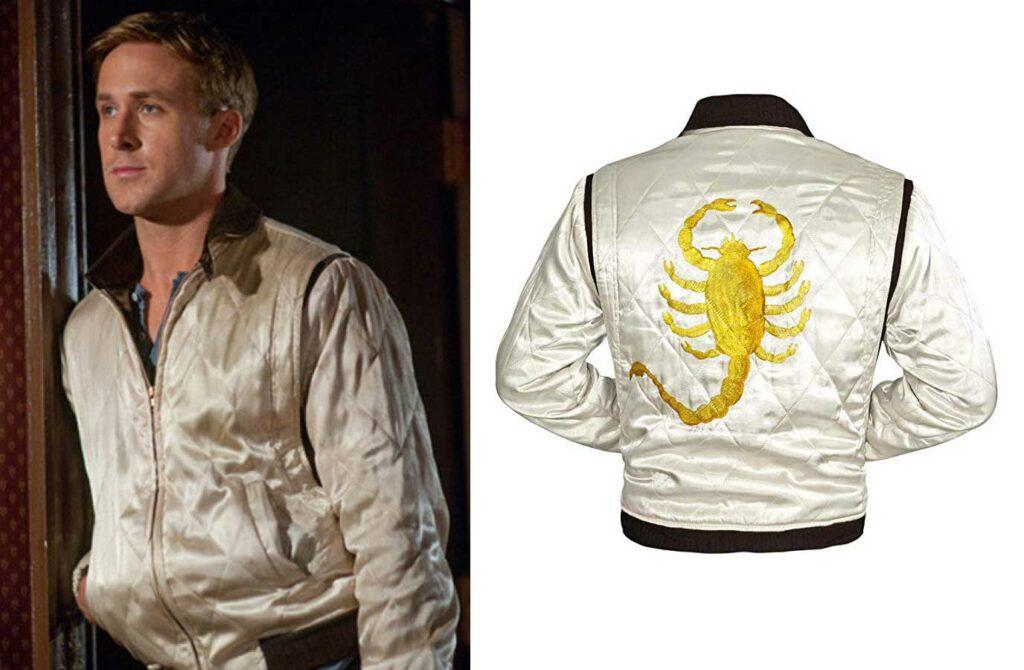 La veste bomber du fil Drive porté par Ryan Gosling