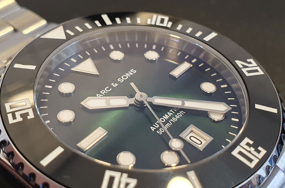 Marc and Sons pro diver dial