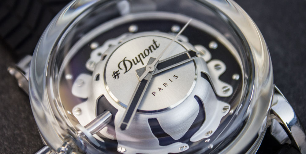 St Dupont hyperdome watch