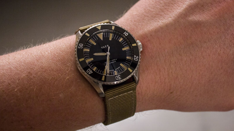 Vaer pacific dive watch